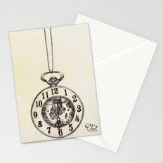 Ballpoint Pen, Half Hunter Pocket Watch Stationery Cards
