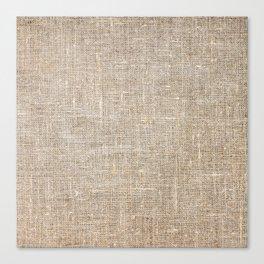 Len Sack Fabric Texture Canvas Print