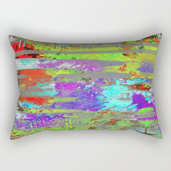 Colour Injection II Rectangular Pillow