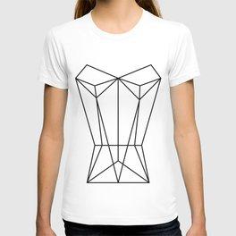 White Corset T-shirt