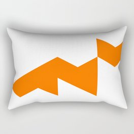 Triangle Fox Rectangular Pillow
