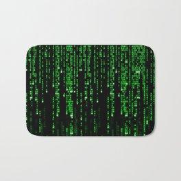 Matrix Binary Code Bath Mat