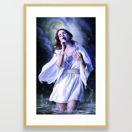 To In Love and Beyond Framed Art Print