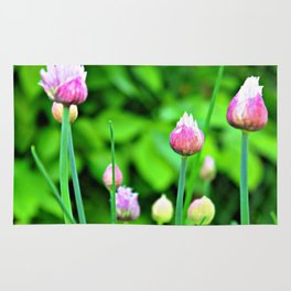 Flowering Chives Rug