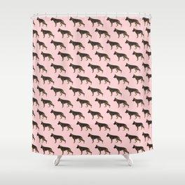 German Shepherd: Red Sable Shower Curtain