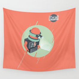 Future is Hollow Graphics Wall Tapestry