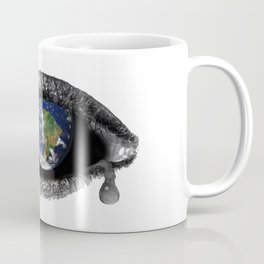 Crying earth Coffee Mug