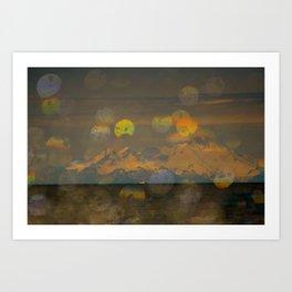 Mt Redoubt Art Print