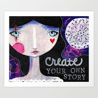 Create Your Own Story Art Print