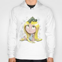 rapunzel Hoodies featuring Rapunzel by EY Cartoons