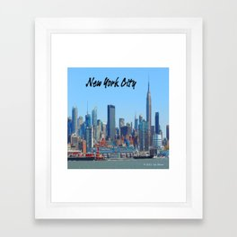 New York Gifts Framed Art Print