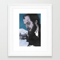 kubrick Framed Art Prints featuring Stanley Kubrick by Andy Christofi