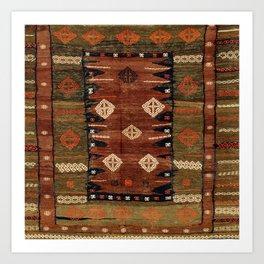 Belouch  Antique Khorassan Northeast Persian Rug Kunstdrucke