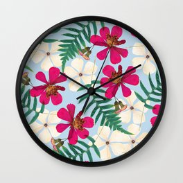 Vintage in My Heart Wall Clock