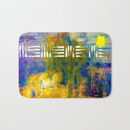 Skyline Thunder On Acid Bath Mat