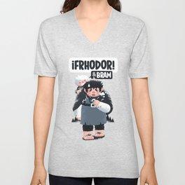 Frhodor! Frhodor! Unisex V-Neck