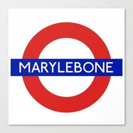 Marylebone Canvas Print