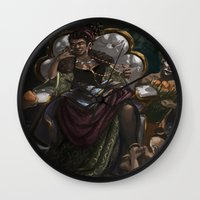 madonna Wall Clocks featuring Madonna  by Anastasia Magloire