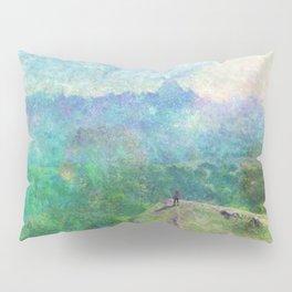 Legend of Zelda Breath of the Wild Intro Impressionist Painting Pillow Sham