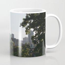 Minneapolis Skyline Through Trees Coffee Mug