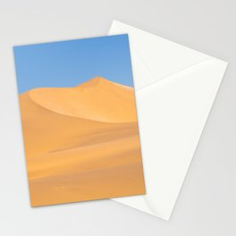 Red dunes and blue sky in Swakopmund, Namibia | Travel photography Africa Stationery Cards