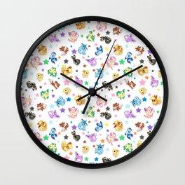 Cuties In The Stars Wall Clock