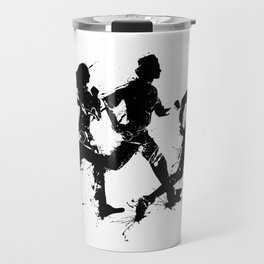 Runners in ink Travel Mug
