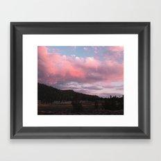 The Beauty of Long Days Framed Art Print