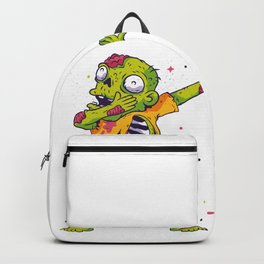 Dab Dabbing Zombie USA Halloween Trend Backpack