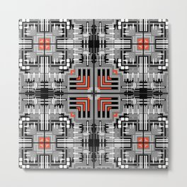 Geometric v6 Metal Print
