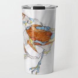 Sparrow | Watercolor Drawing Travel Mug