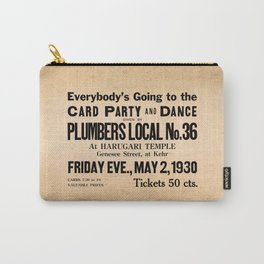 Party at the Plumbers Local No. 36 Carry-All Pouch