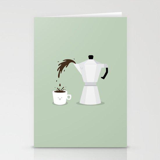 Espresso Time! Stationery Cards
