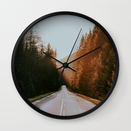 Golden Ears Wall Clock
