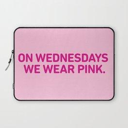On Wednesdays We Wear Pink. Laptop Sleeve