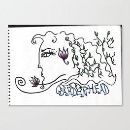Gardenhead Canvas Print