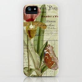 Lady Slipper iPhone Case