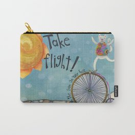 Take Flight With The Sun On Your Face Carry-All Pouch