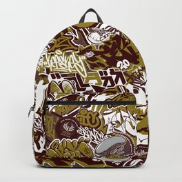 StickerBombing GOLD Backpack