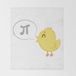 Pi ! Throw Blanket