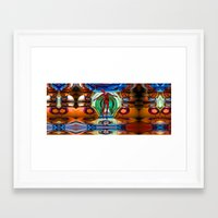pain Framed Art Prints featuring Pain by Tami Cudahy