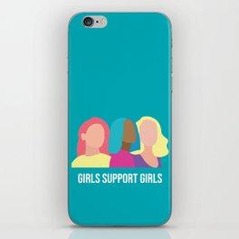 Girls support Girls iPhone Skin