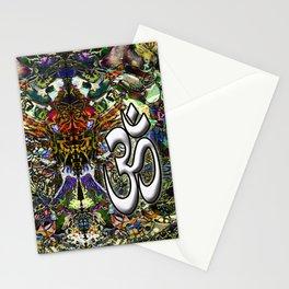 Om Shanti by Kenny Rego Stationery Cards