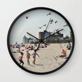 Coney Island fun  Wall Clock