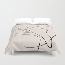 Abstract Line I Duvet Cover
