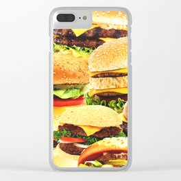 Fast food nation Clear iPhone Case