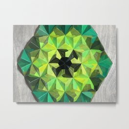 Forest Hues Metal Print