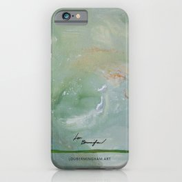 Roma Green iPhone Case