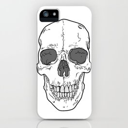 Big Ol' Skull iPhone Case