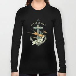 Anchor   Petrol Grey Long Sleeve T-shirt